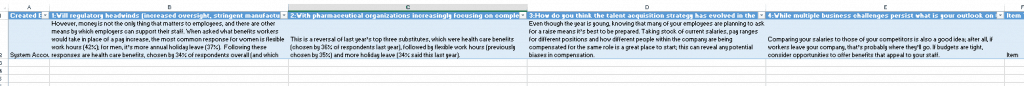 how to export SharePoint survey results to excel