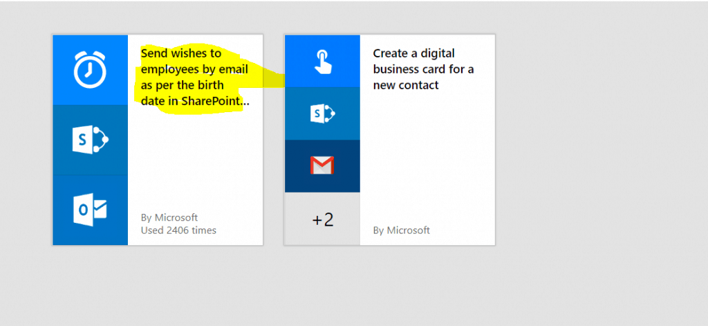microsoft flow example Send wishes to employees by email as per the birth date in SharePoint list