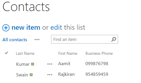Create a Custom People Directory using REST API in SharePoint Online