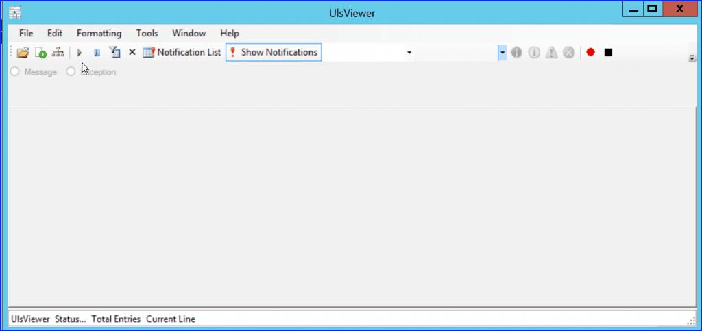 SharePoint uls viewer