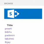 Display SharePoint List Items in Hyperlink in SharePoint Hosted Add-in or Apps