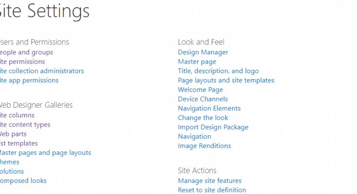 Useful SharePoint URLs for SharePoint Developers