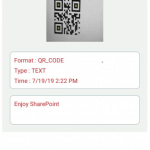 QR CODE Generator in SharePoint