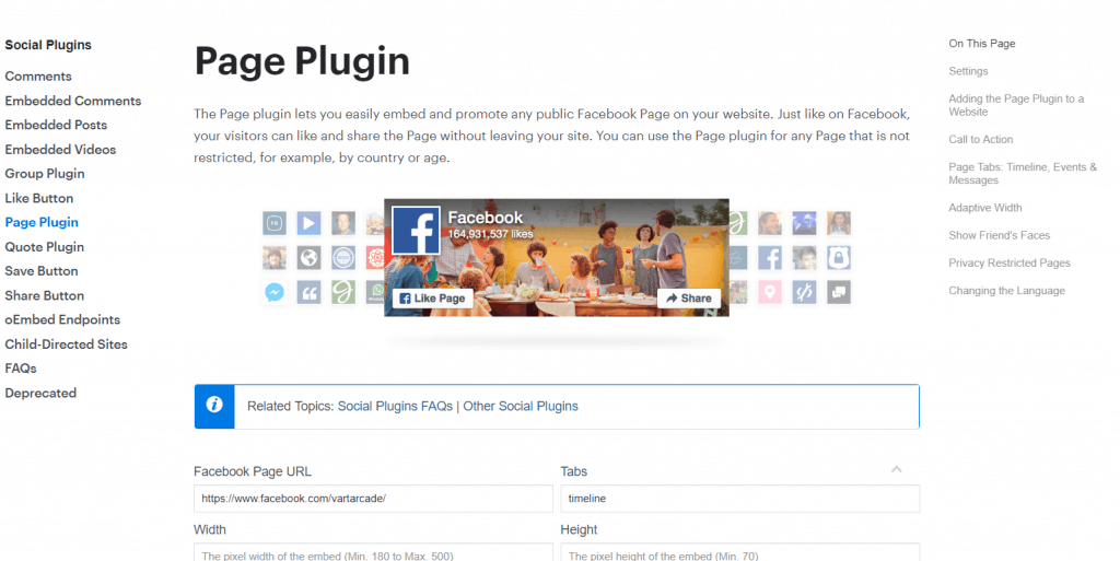 Embed Facebook Page into SharePoint Online Modern Site Page