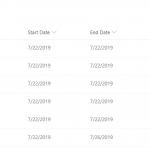 sharepoint modern list column formatting