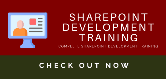 SharePoint deveopment training course