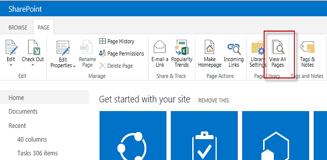 create a web part page in sharepoint