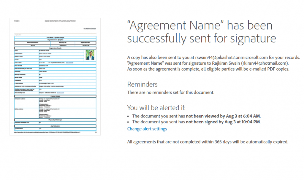 adobe sign sharepoint 2016