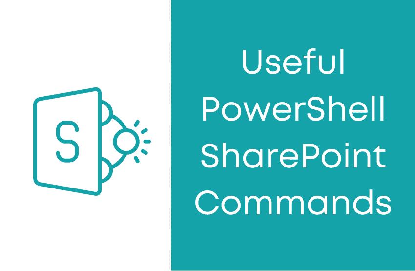 powershell sharepoint commands