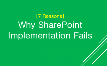 Why SharePoint Implementation Fails