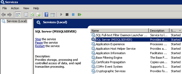 This operation can be performed only on a computer that is joined to a server farm in sharepoint 2010