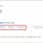 display more than 3 views in SharePoint online list or document library