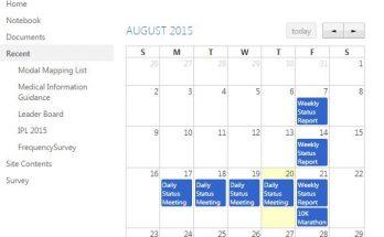 Display the Calendar Using Jquery Full Calendar and SharePoint Rest API