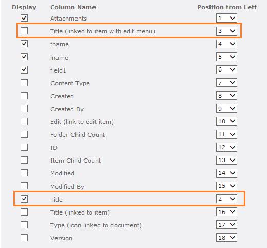 remove hyperlink from title column sharepoint online list