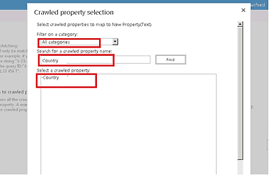 how to configure managed properties SharePoint 2013