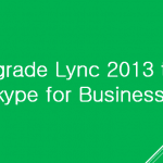 upgrade Lync 2013 to Skype for Business