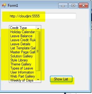 Retrieve all lists in SharePoint 2013 using CSOM