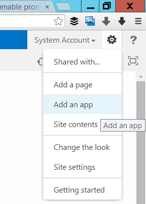 promoted links in SharePoint 2013