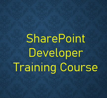 SharePoint developer training course