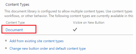 enable document information in ms word in sharepoint 2013
