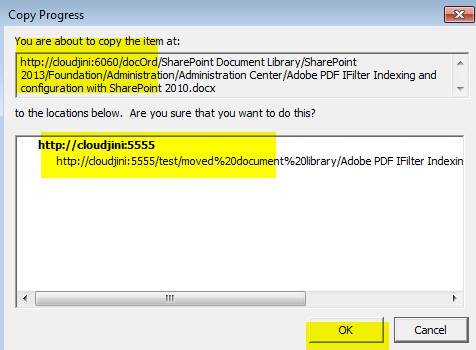 move documents from one collection to another sharepoint 2010