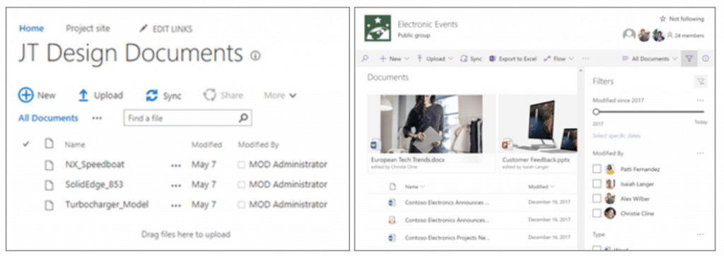 sharepoint 2019 enterprise collaboration features