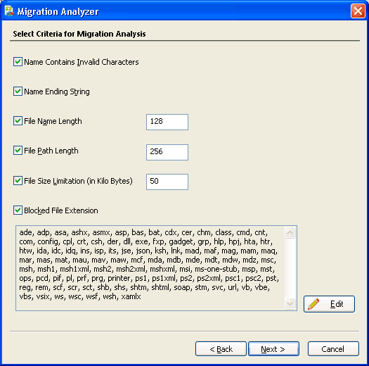 sharepoint pre migration checklist
