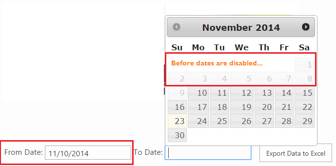 Add date picker in SharePoint 2013 using JavaScript