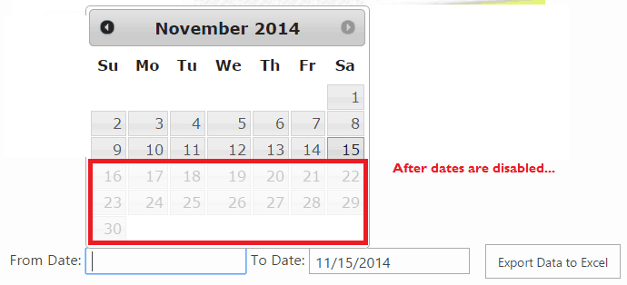 Add date picker in SharePoint using JavaScript