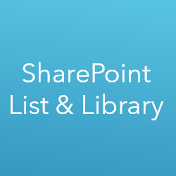 Learn SharePoint List and Library