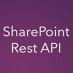 Learn SharePoint Rest APILearn SharePoint Rest API