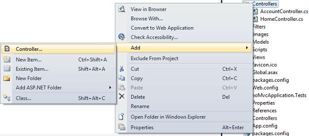 asp.net MVC4 Controller class