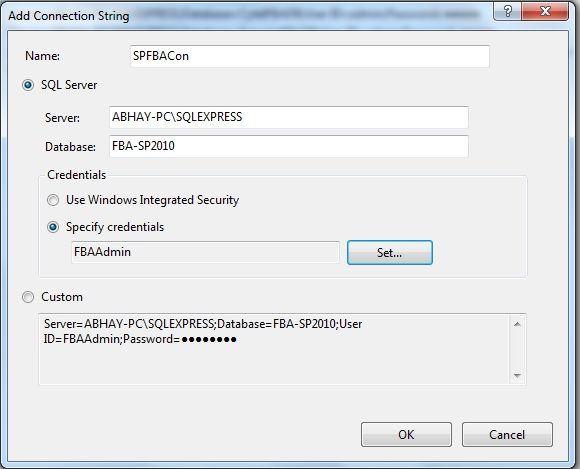 setup form based authentication sharepoint 2013