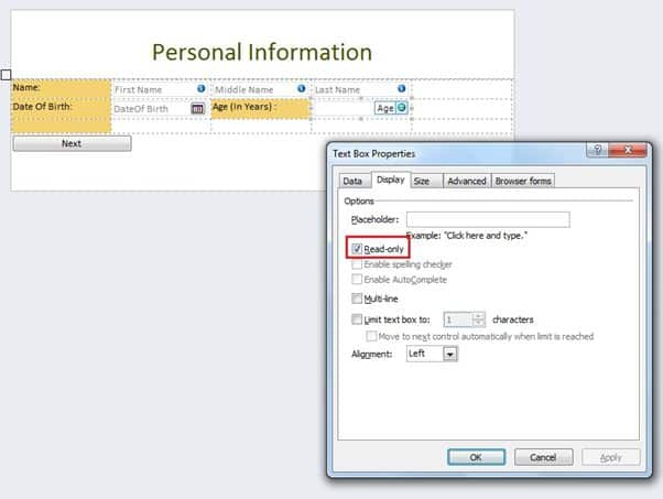 infopath sharepoint online Calculate Age in Year in InfoPath Form