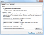 Change code language to C#.Net in InfoPath 2010