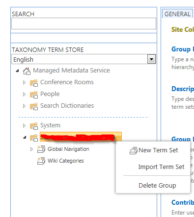 Create Navigation menu in SharePoint 2013