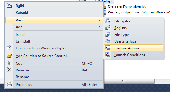 Create and host wcf service as windows service in C#.Net