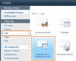 Custom List in Datasheet view template in SharePoint 2010