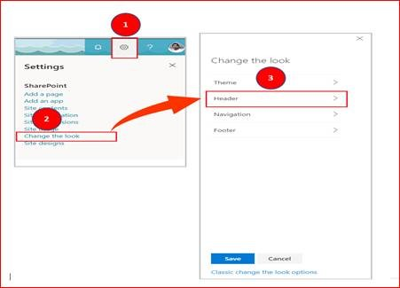 Customize SharePoint Online Communication Site