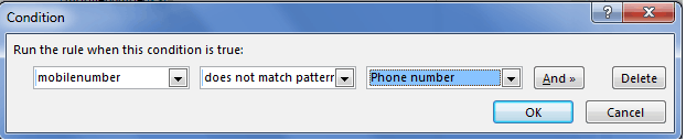 validate phone number in Infopath 2010
