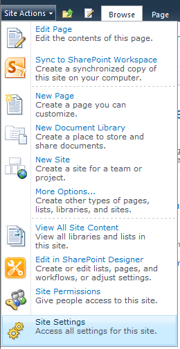 set up site collection administrator in sharepoint 2010