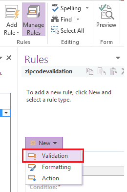 Zip code validation in InfoPath designer sharepoint