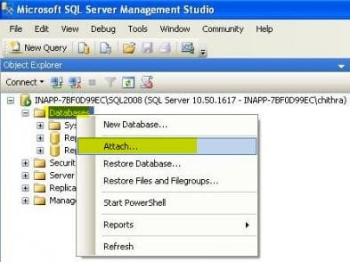 create new log file in SQL Server