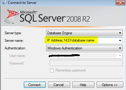 Enable remote connections for SQL Server