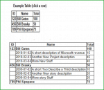 expand collapse in HTML table rows using jQuery