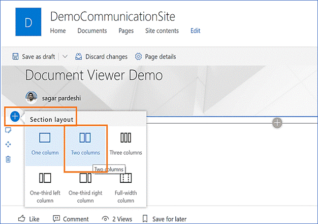 file viewer web part sharepoint online