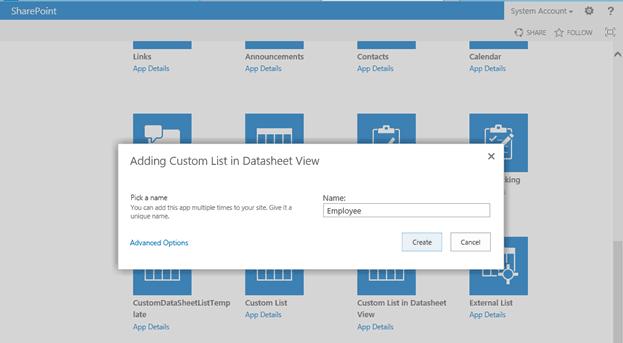 how to create custom list template sharepoint 2016 programmatically