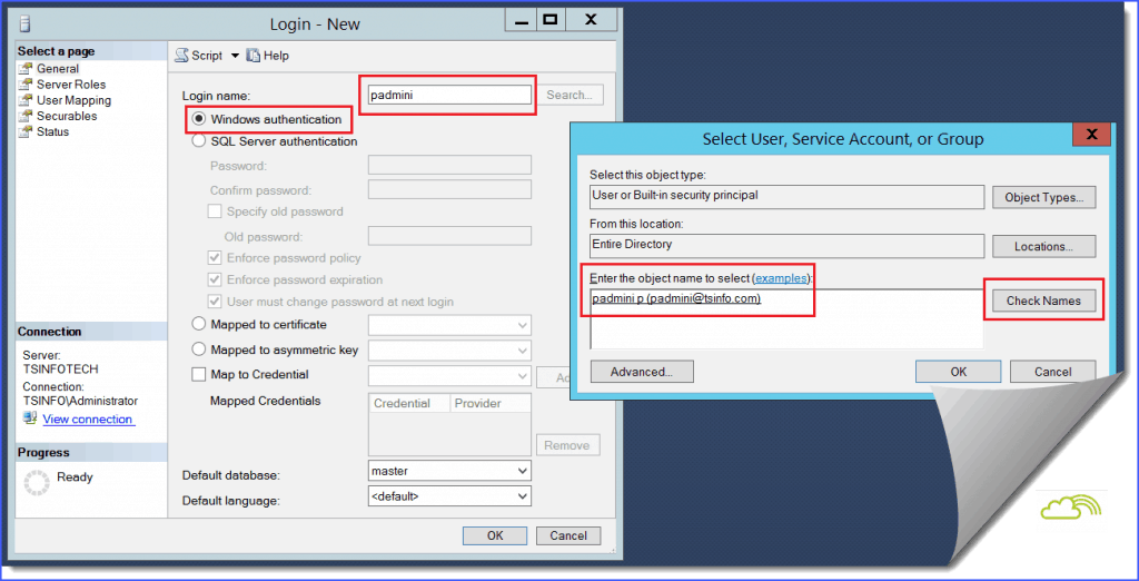 how to create user in sql server step by step