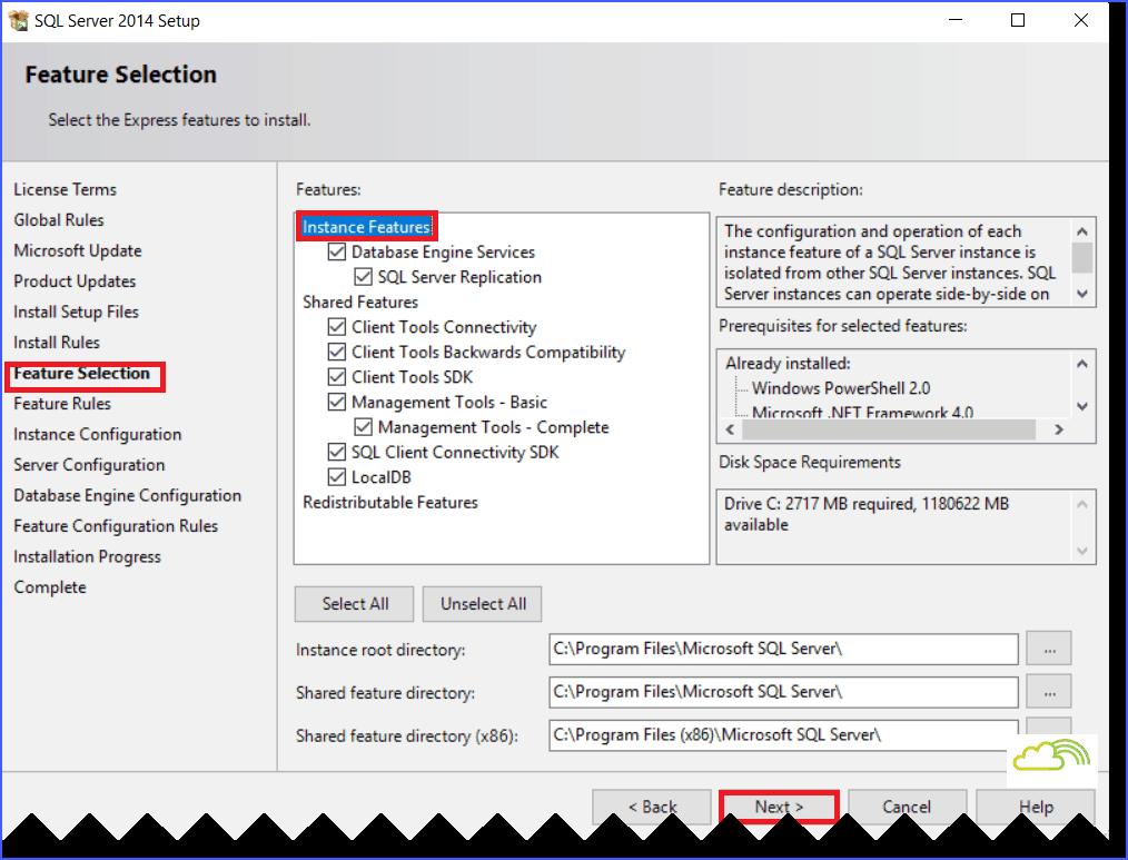 how to install SQL Server 2014 Management Studio