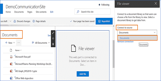 how to use file viewer web part sharepoint online